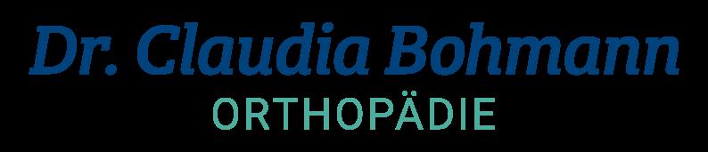 Dr. Claudia Bohmann - Orthopädie